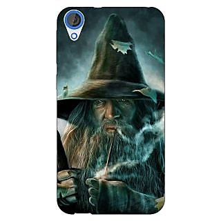 Jugaaduu LOTR Hobbit Gandalf Back Cover Case For HTC Desire 820 - J280364