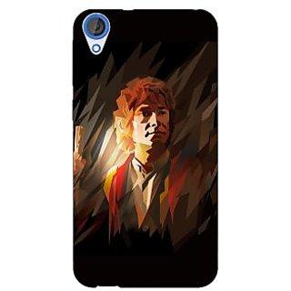 Jugaaduu LOTR Hobbit  Back Cover Case For HTC Desire 820 - J280370
