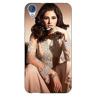 Jugaaduu Bollywood Superstar Nargis Fakhri Back Cover Case For HTC Desire 820 - J281075
