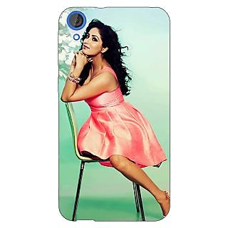 Jugaaduu Bollywood Superstar Yami Gautam Back Cover Case For HTC Desire 820 - J281076