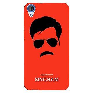 Jugaaduu Bollywood Superstar Singham Back Cover Case For HTC Desire 820 - J281079