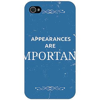 Jugaaduu SUITS Quotes Back Cover Case For Apple iPhone 4 - J10480