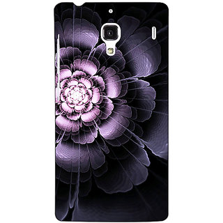 Jugaaduu Abstract Flower Pattern Back Cover Case For Redmi 1S - J251518