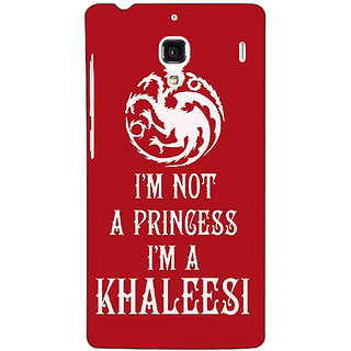 Jugaaduu Game Of Thrones GOT Princess Khaleesi Back Cover Case For Redmi 1S - J251536