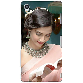 Jugaaduu Bollywood Superstar Sonam Kapoor Back Cover Case For Sony Xperia Z3 - J261070