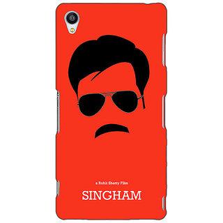 Jugaaduu Bollywood Superstar Singham Back Cover Case For Sony Xperia Z3 - J261079