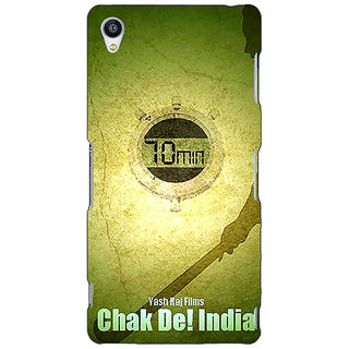 Jugaaduu Bollywood Superstar Chak De India Back Cover Case For Sony Xperia Z3 - J261082