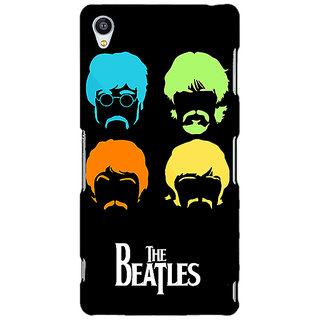 Jugaaduu The Beatles Back Cover Case For Sony Xperia Z3 - J261083