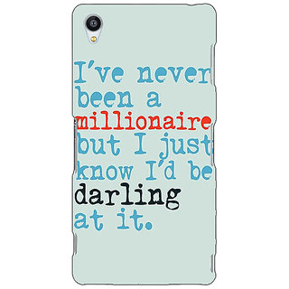 Jugaaduu Quote Back Cover Case For Sony Xperia Z3 - J261339