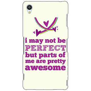 Jugaaduu Quote Back Cover Case For Sony Xperia Z3 - J261355
