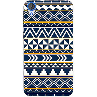 Jugaaduu Aztec Girly Tribal Back Cover Case For HTC Desire 820 - J280060
