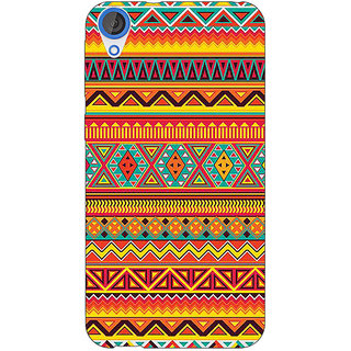 Jugaaduu Aztec Girly Tribal Back Cover Case For HTC Desire 820 - J280070