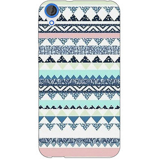 Jugaaduu Aztec Girly Tribal Back Cover Case For HTC Desire 820 - J280073