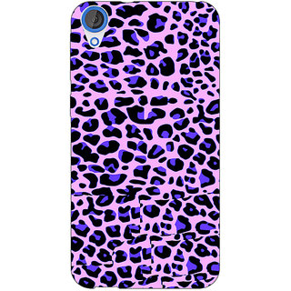 Jugaaduu Cheetah Leopard Print Back Cover Case For HTC Desire 820 - J280079