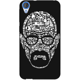 Jugaaduu Breaking Bad Heisenberg Back Cover Case For HTC Desire 820 - J280407
