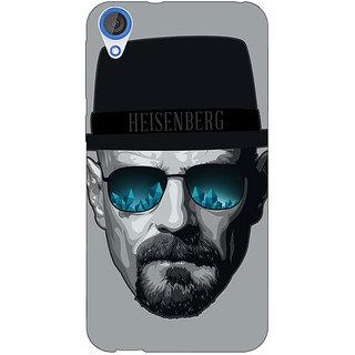 Jugaaduu Breaking Bad Heisenberg Back Cover Case For HTC Desire 820 - J280413