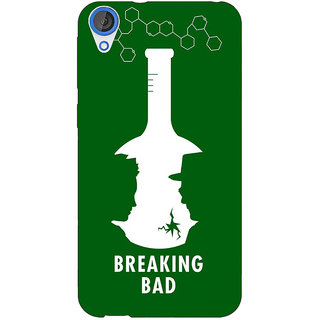 Jugaaduu Breaking Bad Heisenberg Back Cover Case For HTC Desire 820 - J280422