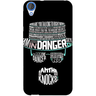 Jugaaduu Breaking Bad Heisenberg Back Cover Case For HTC Desire 820 - J280433