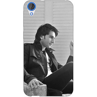 Jugaaduu Bollywood Superstar Ranveer Singh Back Cover Case For HTC Desire 820 - J280945