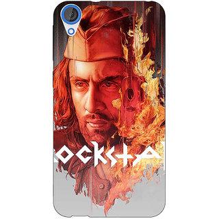Jugaaduu Bollywood Superstar Ranbir Kapoor Rockstar Back Cover Case For HTC Desire 820 - J280959