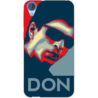 Jugaaduu Bollywood Superstar Don Shahrukh Khan Back Cover Case For HTC Desire 820 - J281113