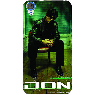 Jugaaduu Bollywood Superstar Don Shahrukh Khan Back Cover Case For HTC Desire 820 - J281114