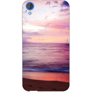 Jugaaduu Sunset At the Beach Back Cover Case For HTC Desire 820 - J281136