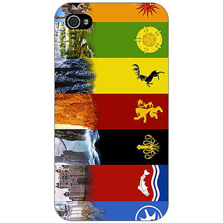 Jugaaduu Game Of Thrones GOT  Back Cover Case For Apple iPhone 4 - J10118