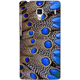 Jugaaduu Paisley Beautiful Peacock Back Cover Case For Redmi 1S - J251577