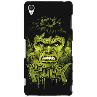 Jugaaduu Superheroes Hulk Back Cover Case For Sony Xperia Z3 - J260324