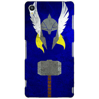 Jugaaduu Superheroes Thor Back Cover Case For Sony Xperia Z3 - J260338