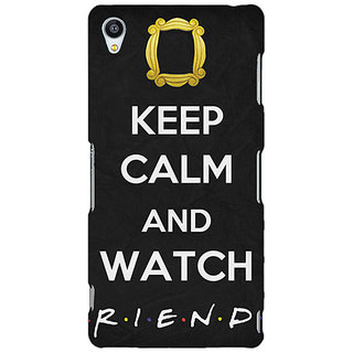 Jugaaduu TV Series FRIENDS Back Cover Case For Sony Xperia Z3 - J260344