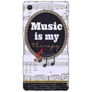 Jugaaduu Music Quote Back Cover Case For Sony Xperia Z3 - J261402