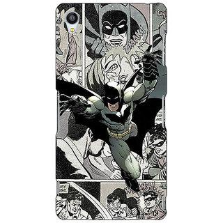Jugaaduu Batman Comic Back Cover Case For Sony Xperia Z3 - J261443