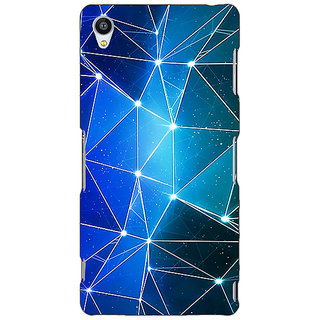 Jugaaduu Crystal Prism Back Cover Case For Sony Xperia Z3 - J261446