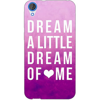Jugaaduu Dream Love Back Cover Case For HTC Desire 820 - J280090
