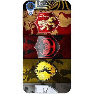 Jugaaduu Game Of Thrones GOT  Back Cover Case For HTC Desire 820 - J280119