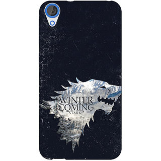Jugaaduu Game Of Thrones GOT House Stark  Back Cover Case For HTC Desire 820 - J280131
