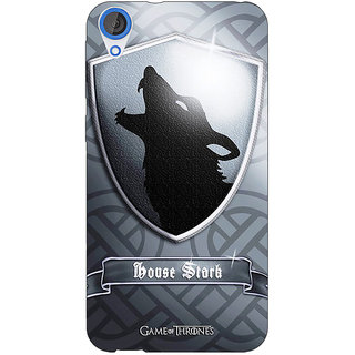 Jugaaduu Game Of Thrones GOT House Stark  Back Cover Case For HTC Desire 820 - J280133