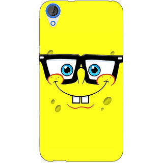 Jugaaduu Spongebob Back Cover Case For HTC Desire 820 - J280459