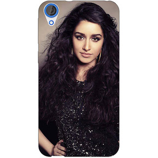 Jugaaduu Bollywood Superstar Shraddha Kapoor Back Cover Case For HTC Desire 820 - J281008
