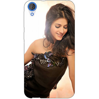 Jugaaduu Bollywood Superstar Shruti Hassan Back Cover Case For HTC Desire 820 - J281011