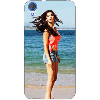 Jugaaduu Bollywood Superstar Shruti Hassan Back Cover Case For HTC Desire 820 - J281013