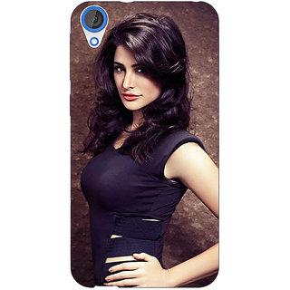 Jugaaduu Bollywood Superstar Nargis Fakhri Back Cover Case For HTC Desire 820 - J281022