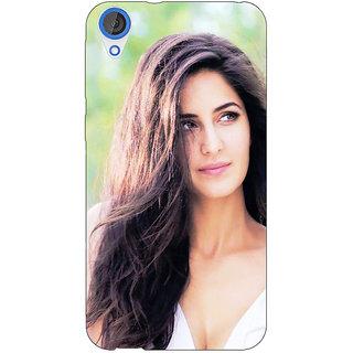 Jugaaduu Bollywood Superstar Katrina Kaif Back Cover Case For HTC Desire 820 - J281023