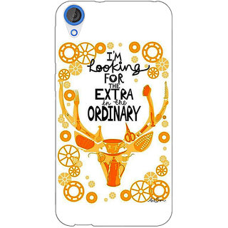 Jugaaduu Quotes Back Cover Case For HTC Desire 820 - J281162