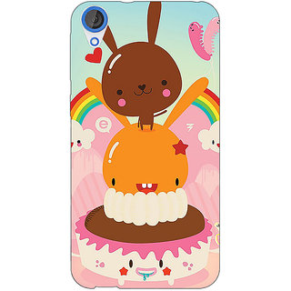 Jugaaduu Cartoons Back Cover Case For HTC Desire 820 - J281163