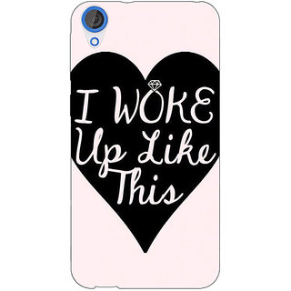 Jugaaduu Quotes Beautiful Back Cover Case For HTC Desire 820 - J281189