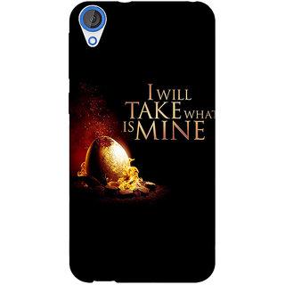 Jugaaduu Game Of Thrones GOT Khaleesi Daenerys Targaryen Back Cover Case For HTC Desire 820 - J281543