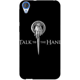 Jugaaduu Game Of Thrones GOT Hand Of The King Back Cover Case For HTC Desire 820 - J281545